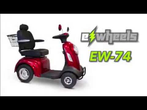 EW-74 Four Wheel Heavy Duty Scooter