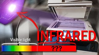 What happens if you photocopy infrared light [Surprising]