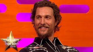 "Matthew McConaughey Has To Say ""Alright"" Three Times | The Graham Norton Show"