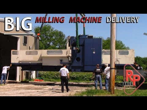 Our NEW BIG Milling Machine - Mighty Viper 62
