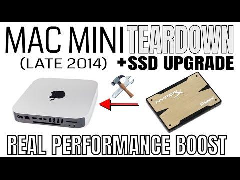 Mac mini (late 2014) Teardown - SSD Upgrade