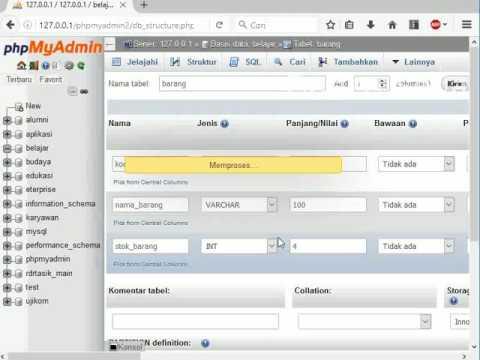 Membuat Relasi MySQL dengan PhpMyAdmin