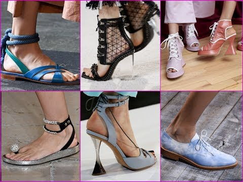 Biggest Spring and Summer Shoe Trends 2018