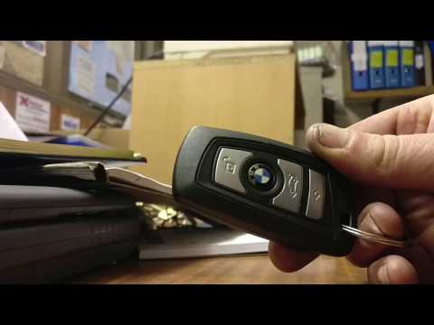 How to change battery in a BMW key fob