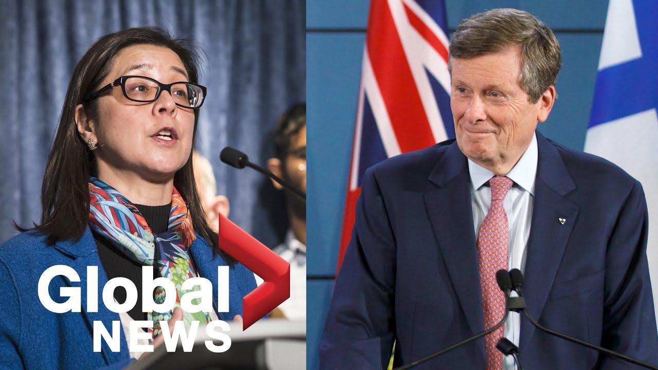Coronavirus outbreak: Ontario reopening plan will help guide Toronto's recovery, mayor says | FULL