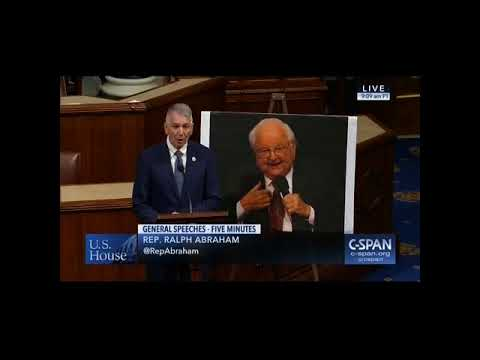 T.F. Tenney memorialized by U.S. Rep. Ralph Abraham