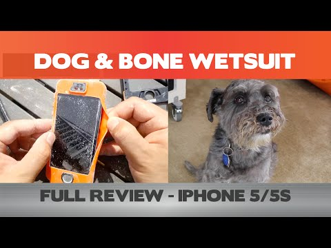 Review - Dog & Bone's Wetsuit for the iPhone 5 and 5S