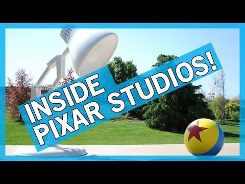 Pixar Studios Tour - EXCLUSIVE!