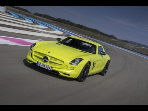 Mercedes-Benz SLS AMG Electric Drive: First Drive