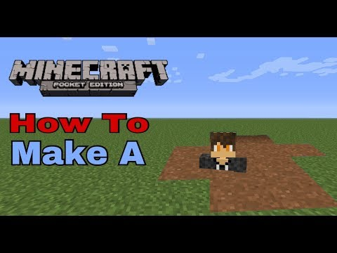 HOW TO MAKE QUICKSAND IN MCPE | Minecraft PE
