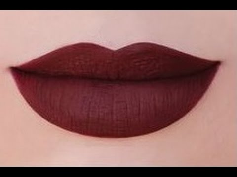 How to Make Any Lipstick MATTE?! - by superwowstyle
