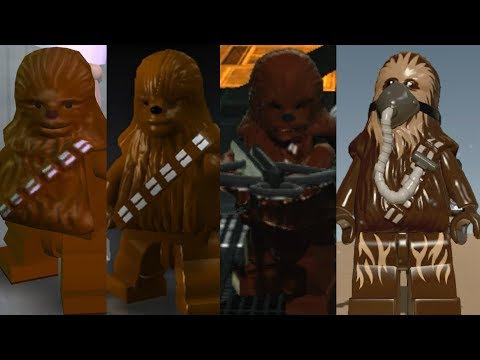 Chewbacca evolution  in Lego Star Wars videogames!