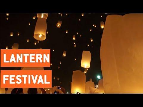 Lantern Festival In Thailand | Travel Bucket List