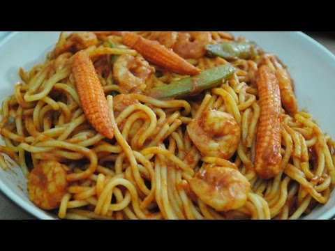 HEALTHY PRAWN SPAGHETTI  - Student Recipe