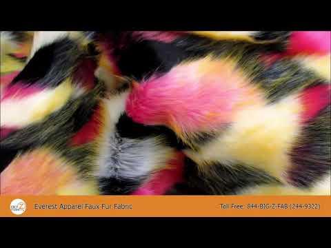 Everest Apparel Faux Fur Fabric