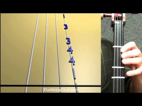 Learn Chicken Dance on Cello - How to Play Tutorial