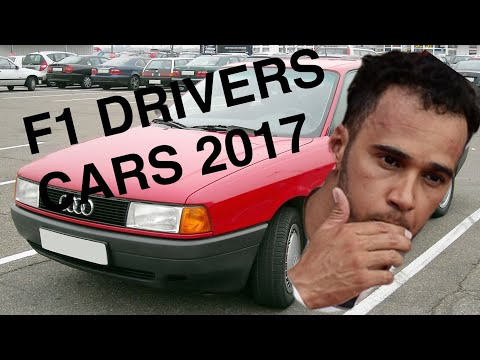 What do F1 Drivers drive to the track? Hungary 2017 Edition HD