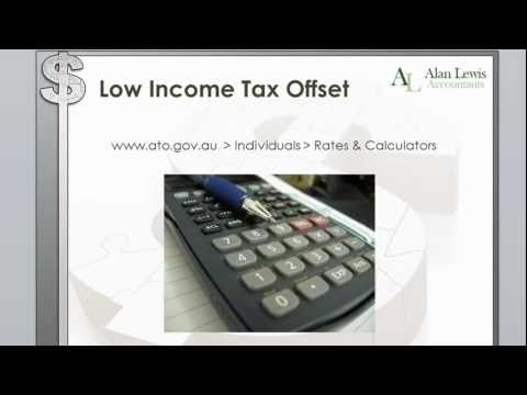 Low Income Tax Offset 2011