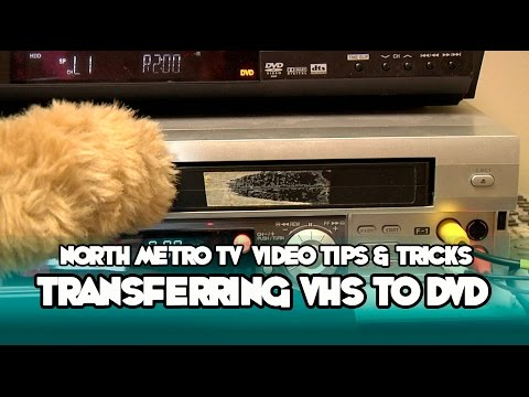 Transferring Home Movies from VHS to DVD - NMTV Video Tips and Tricks