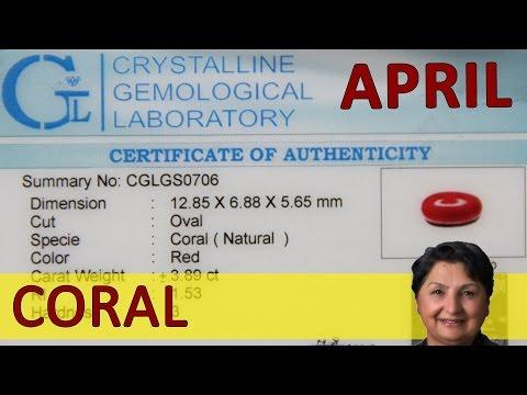 Gemstone For April - Coral - Rebellious Energy Of Uranus