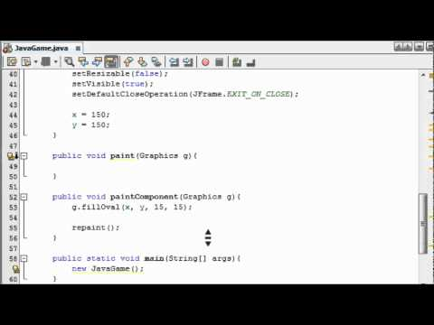 Java Game Programming for Beginners - #3 - Double Buffering