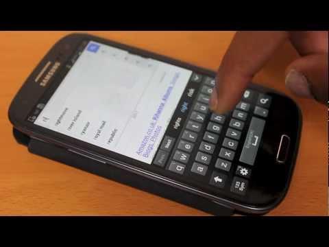 Delete Samsung Galaxy S3 broswer history