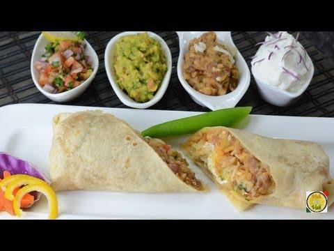 Homemade Burrito Tortillas - By Vahchef @ vahrehvah.com