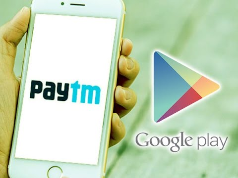 Now Recharge your Google Play Account with Paytm