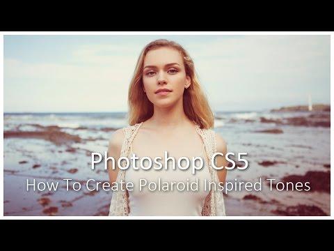 [Photoshop CS5] How To Create Polaroid Inspired Tones