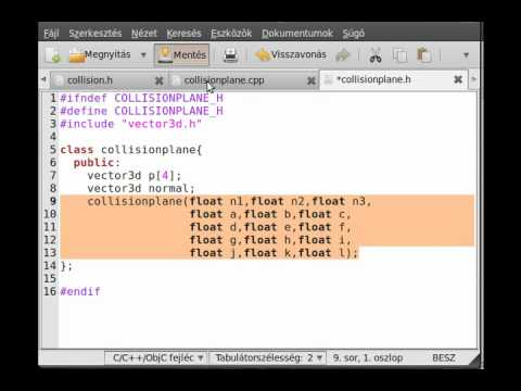FPS game (OpenGL,SDL,C++) tutorial 2 - collision,collisionplane,collisionsphere class