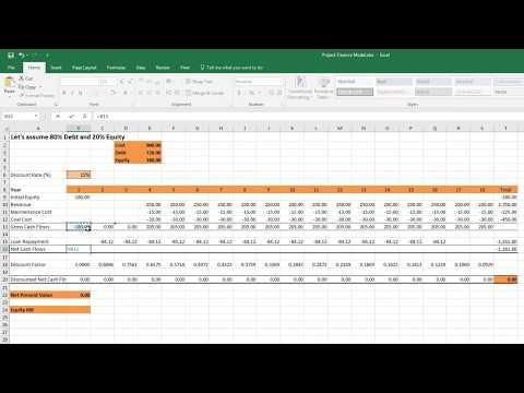 BUSM4417 Equity IRR Calculation