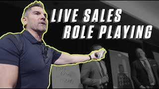 Live Sales Role Playing - Grant Cardone