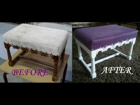 DIY otoman restoration
