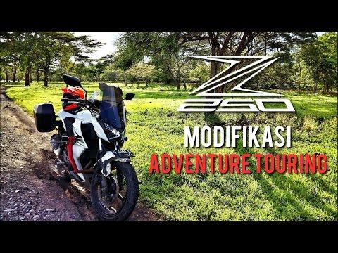 Kawasaki Z250 Modifikasi Adventure Touring - Mengenal Lebih Dekat