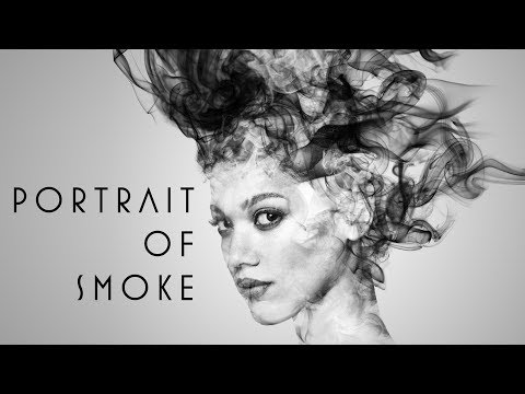 Photoshop: How to Create a Portrait of SMOKE.