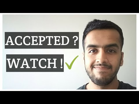 Things you should do after getting accepted into a Canadian University/College