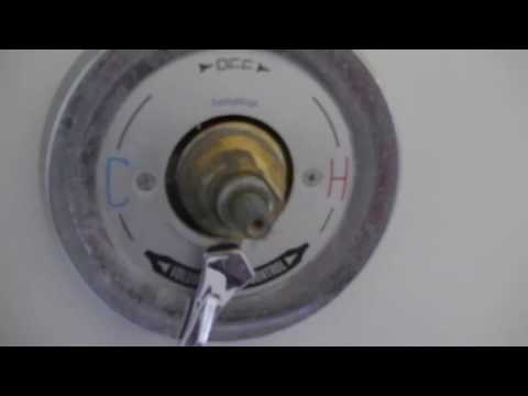 How To Replace Diverter Valve Symmons Temptrol