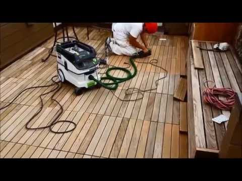 Wood Deck Refinish with Festool and Sikkens Cetol