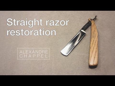 Straight razor  restoration