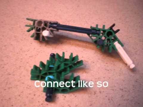 How to Make a Very Small K'nex Gun