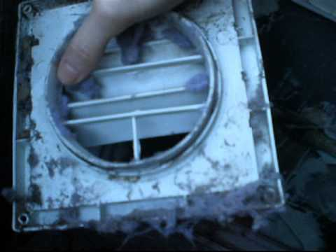 How to clean your clothes dryer vent/ductwork