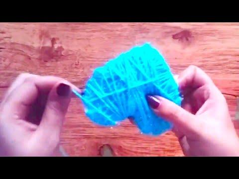 Heart shape !! Handmade gift - woolen craft - cool and creative