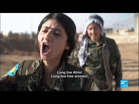Xxx Mp4 Syria Kurdish Women Fighters Vow To Avenge Soldier 39 S Death 3gp Sex