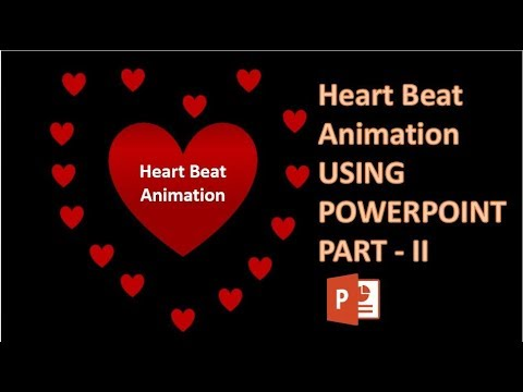 Heart Beating Animation in Powerpoint PART II