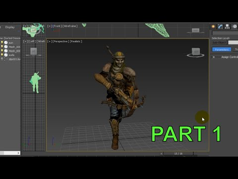 3ds Max Advanced Animation Tutorial Part 1: Character Run Cycle (ENGLISH)
