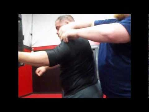 Putting on a Powerlifting Bench Shirt (Video 1) @ Bad Attitude Gym