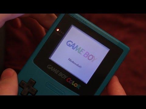 Gameboy Color Frontlight Screen Mod