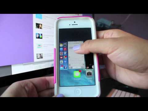 How To Close Apps on iPhone (iOS7) Running in Background