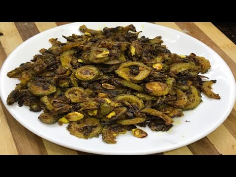 क्रिस्पी करेला सब्ज़ी । crispy bitter gourd fry । easy and quick healthy recipe