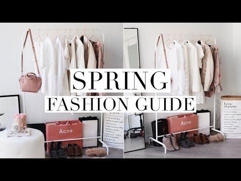 SPRING FASHION GUIDE 2018 | Trends & Capsule Wardrobe Basics